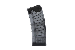 The Lancer Systems L5AWM 30 Round Translucent AR15 Magazine for 5.56 NATO and .223 remington is made from polymer
