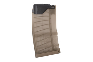 Lancer Systems L5AWM Blem 20 round magazine comes in translucent dark earth color