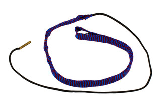 Hoppe's BoreSnake Den .22 Caliber Pistol bore cleaner features dual brass brushes and a caliber marked carrier.