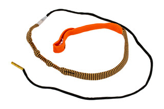 Hoppe's BoreSnake Viper Den .30 - .32 Caliber Pistol bore cleaner features dual brass brushes and a caliber marked carrier.