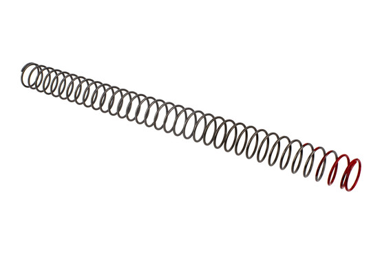 Sprinco M16 standard power carbine length buffer spring is an extra power spring with red identification marking