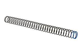 Sprinco M16 enhanced power carbine length buffer spring is an extra power spring with blue identification marking