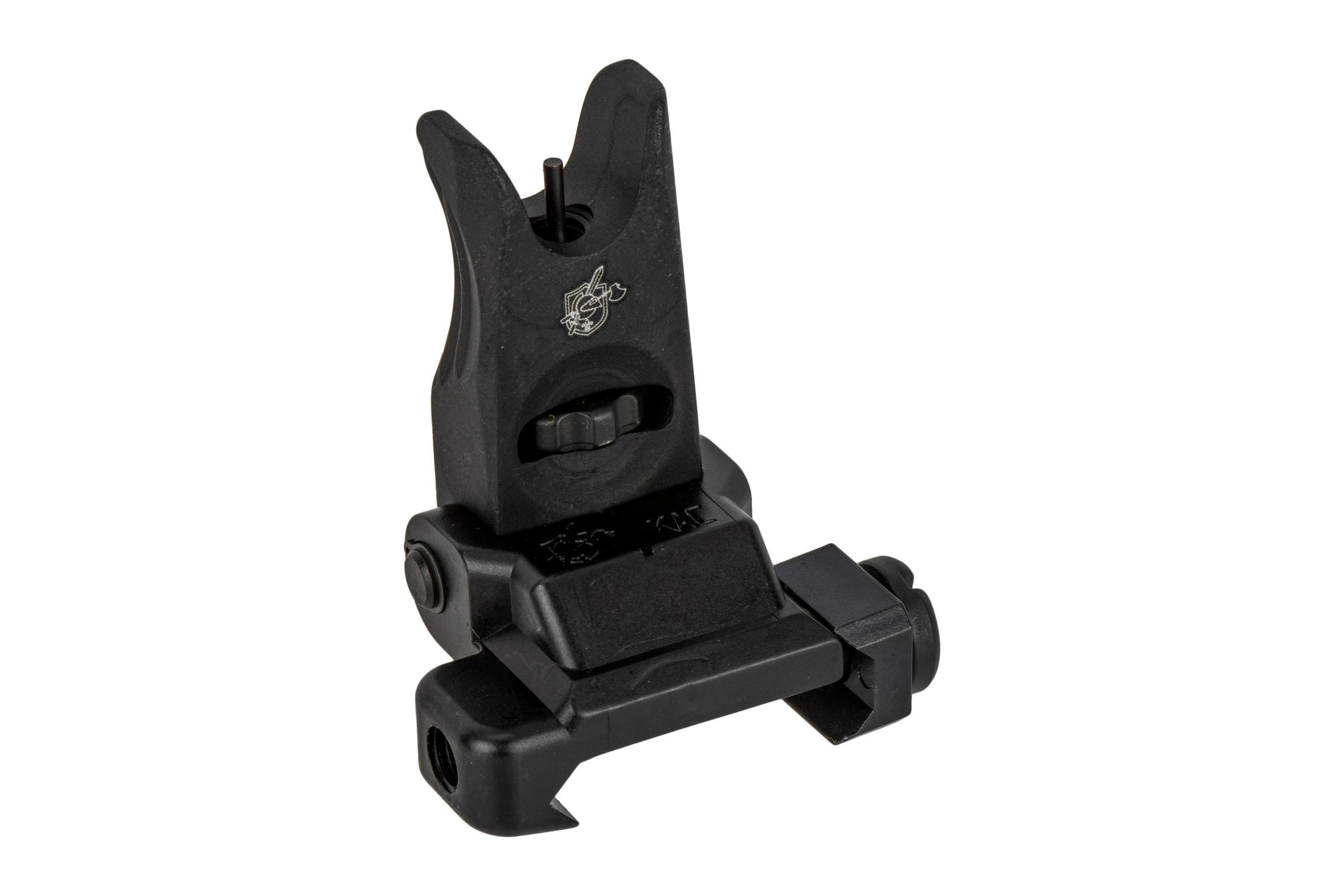 Knights Armament Folding Micro Front Sight is adjustable for elevation