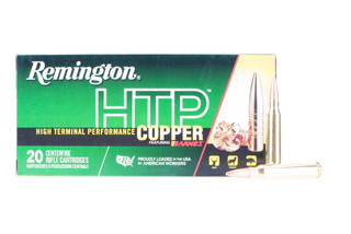 Remington HTP 223 hollow point ammo is fully made from copper