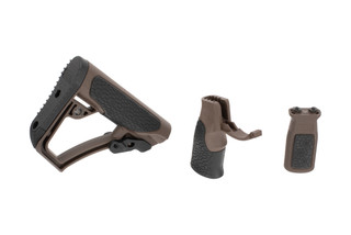 Daniel Defense Furniture Set comes with stock, pistol grip, and M-LOK vertical grip