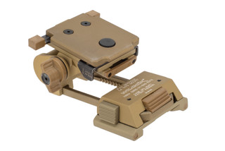 Wilcox G24 night vision mount comes in tan