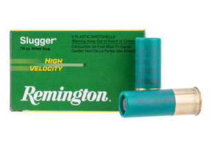 Remington Slugger 12 Gauge rifled slug comes in at 7/8th of an ounce