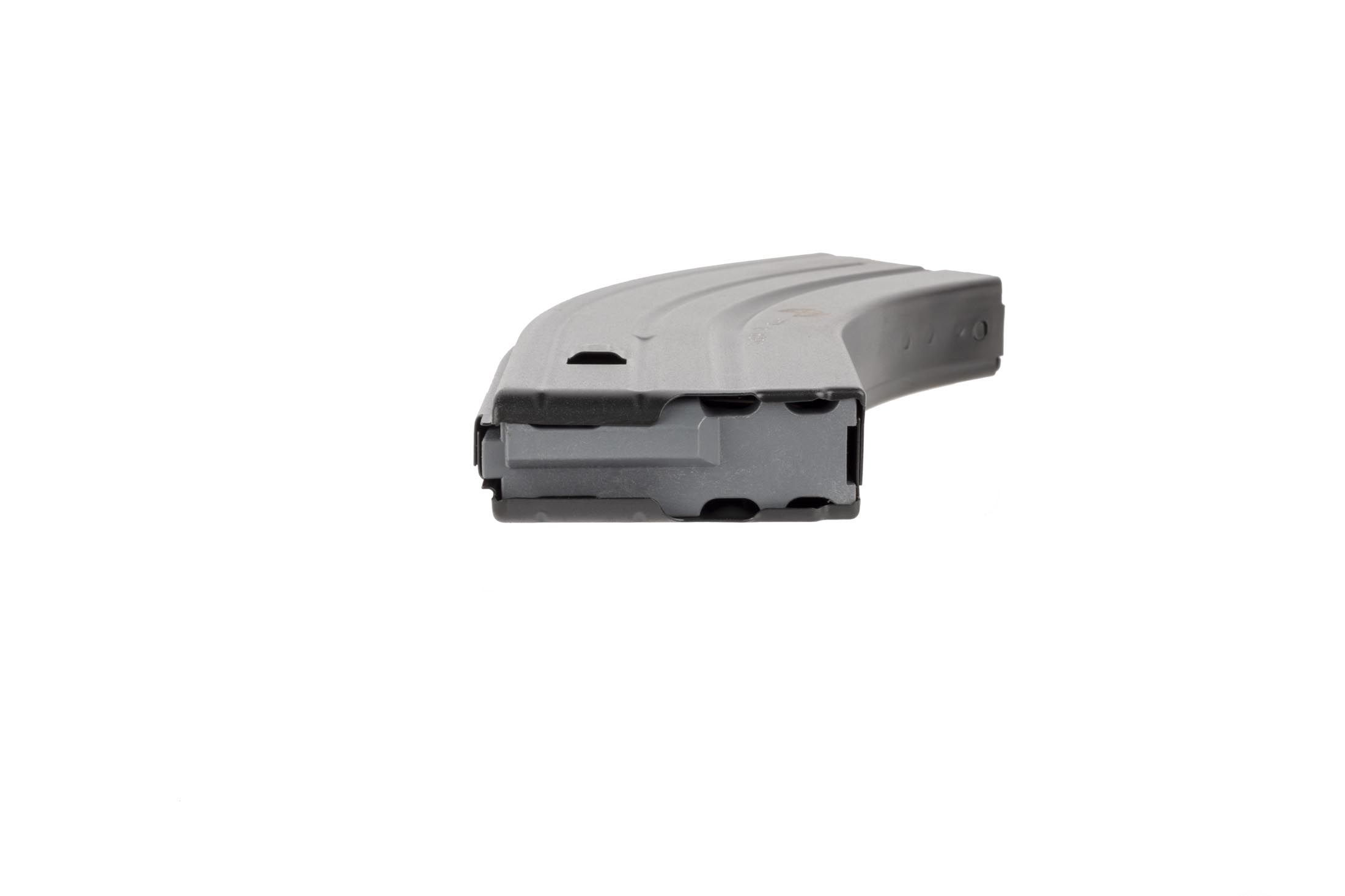 C Products steel 6.8 SPC magazine featuers a grey anti-tilt follower for reliable feeding of all 28 rounds
