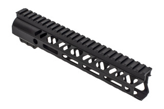 2A Armament Builders Series M-LOK AR 15 handguard with black anodized finish and 10in length