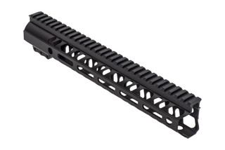 2A Armament Builders Series M-LOK AR 15 handguard with black anodized finish and 12in length