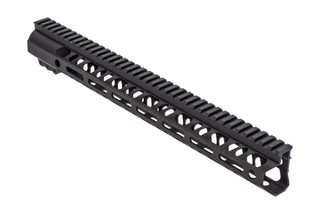 2A Armament Builders Series M-LOK AR 15 handguard with black anodized finish and 15in length