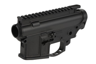 The 2A Armament Balios Lite billet receiver set is machined from 7075-T6 aluminum with a hardcoat anodized finish