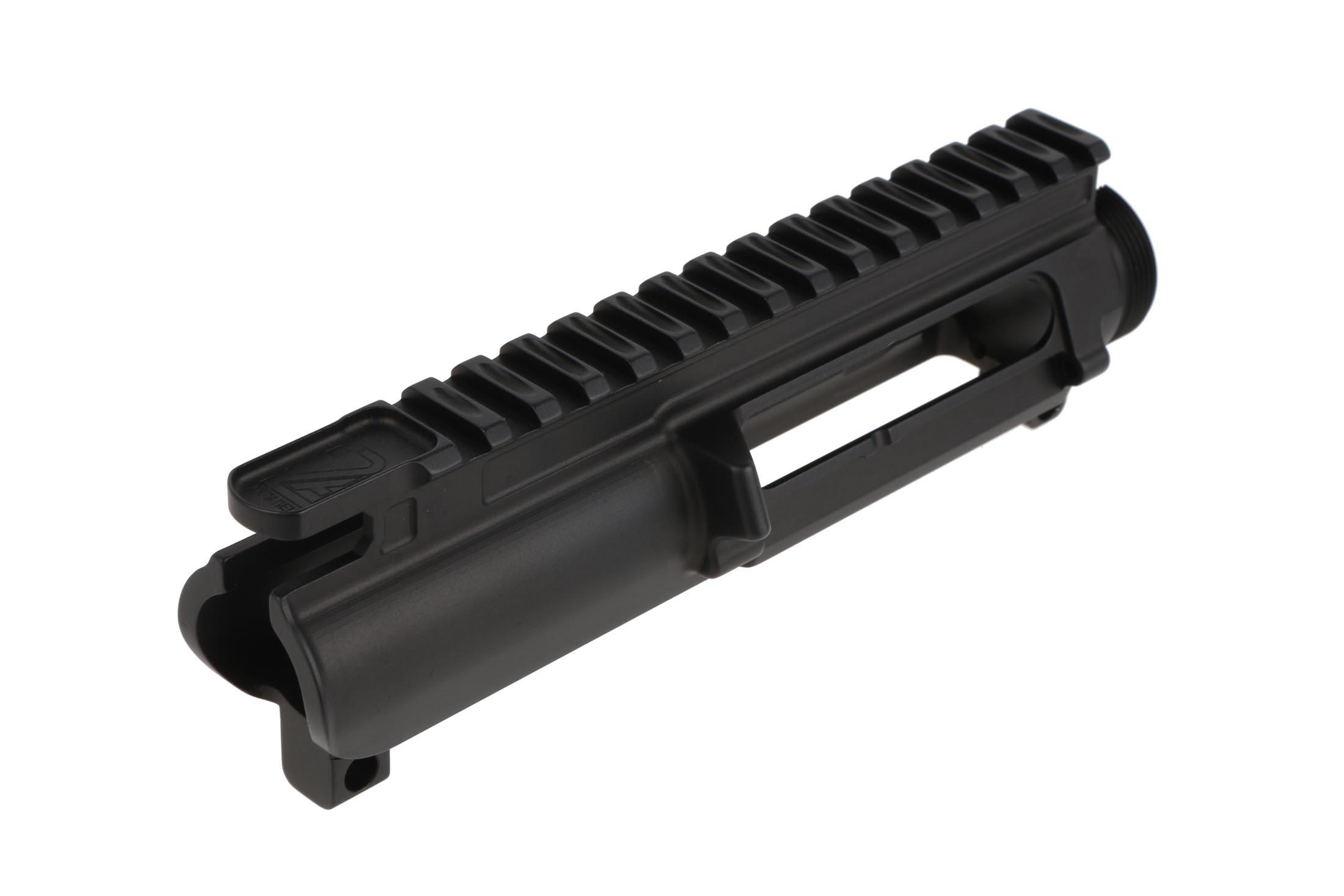 The 2A Armament Balios Lite upper receiver has cuts on the picatinny rail to reduce weight