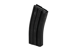 Ammunition Storage Components STEEL 30-round AR-15 magazine with black marlube finish