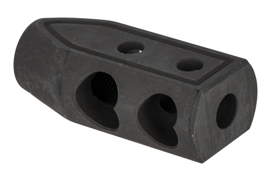 Timber Creek Outdoors 2-port Heart Breaker muzzle brake for .308 caliber rifles with 5/8x24 barrel threading