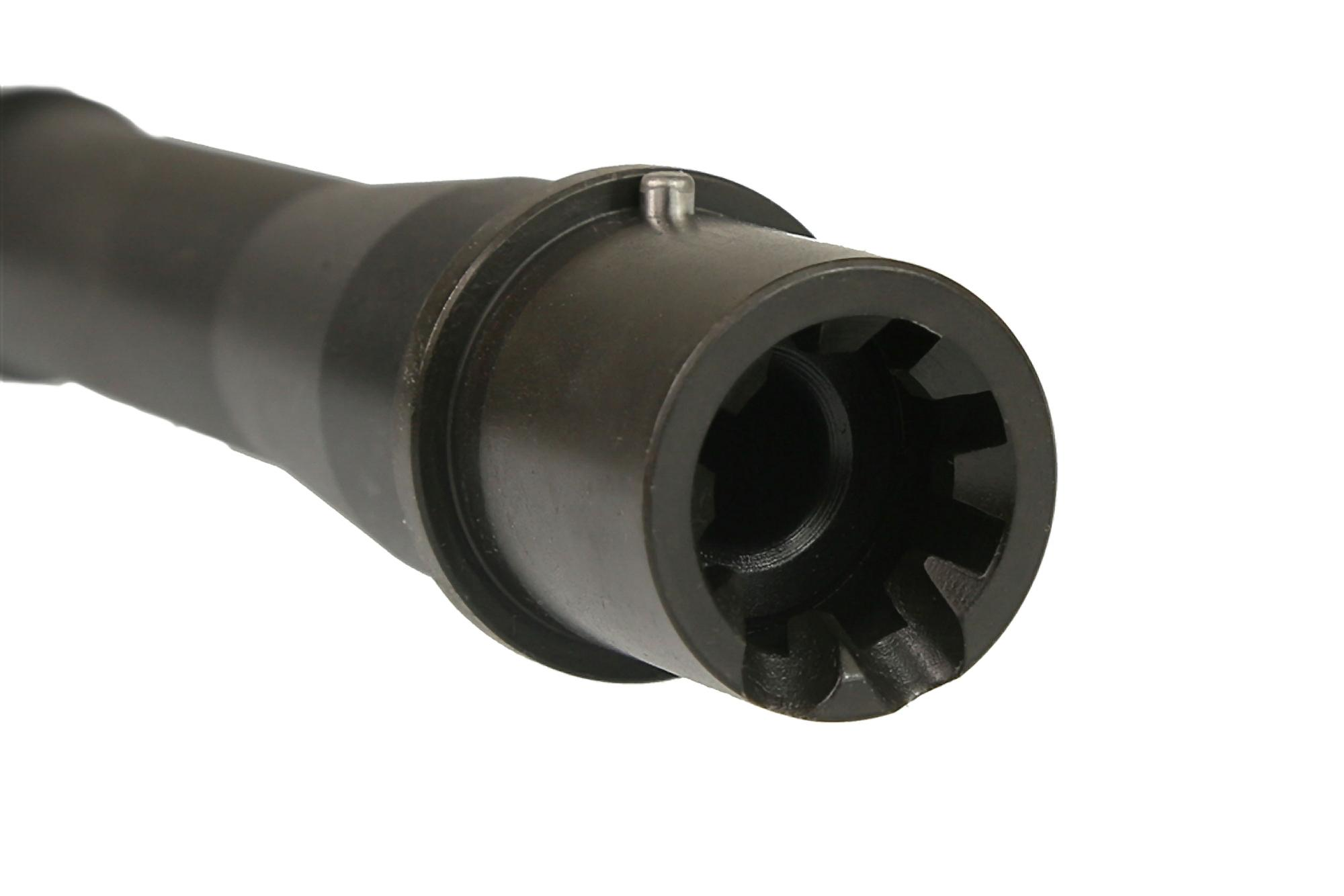 The .300 BLK barrel from CMMG features an M4 barrel extension with feed ramps