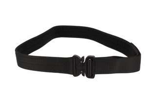 High Speed Gear 1.75in Rigger Belt black is equipped with a large Cobra Buckle.