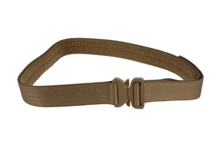 High Speed Gear 1.75in Rigger Belt coyote brown is equipped with a large Cobra Buckle.
