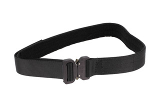 High Speed Gear 1.5in small black Rigger Belt black is equipped with a cobra buckle