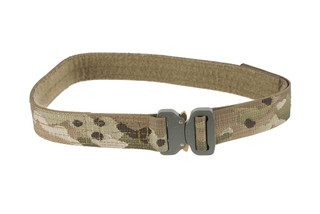 High Speed Gear 1.5in small MultiCam Rigger Belt coyote is equipped with a cobra buckle