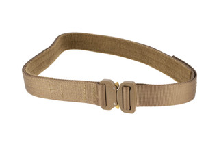 High Speed Gear 1.5in medium coyote Rigger Belt coyote is equipped with a cobra buckle