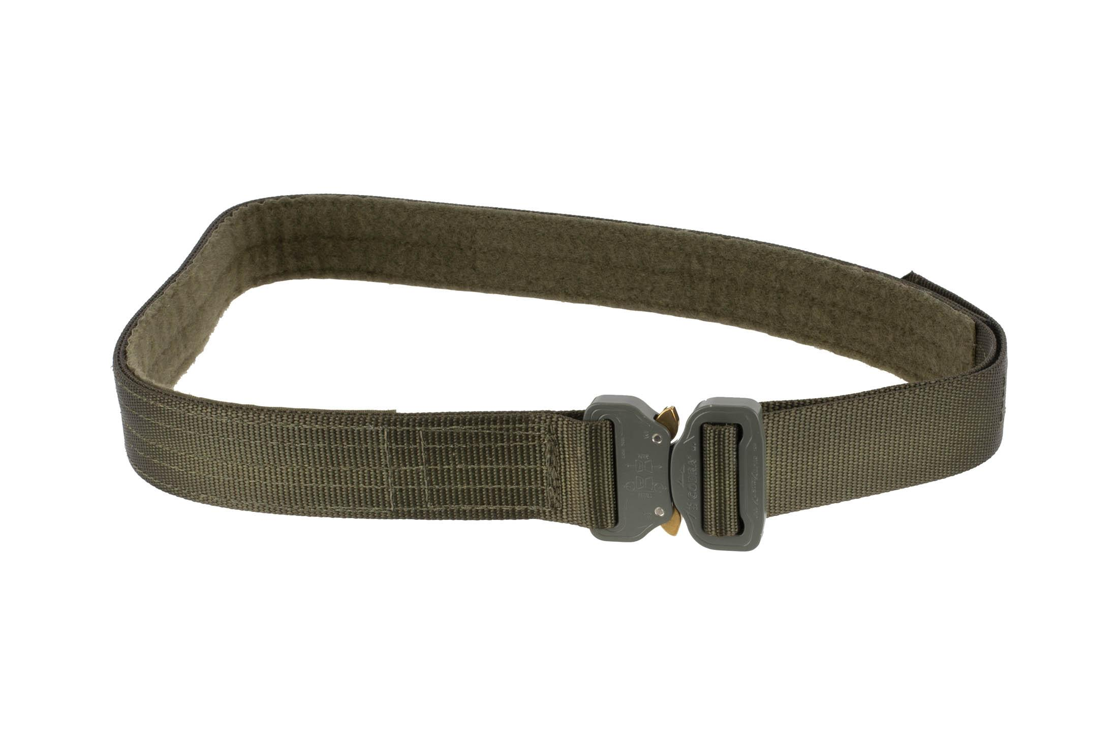 High Speed Gear 1.5in medium olive drab green Rigger Belt coyote is equipped with a cobra buckle