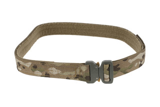 High Speed Gear 1.5in large MultiCam Rigger Belt coyote is equipped with a cobra buckle