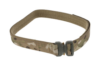 High Speed Gear 1.5in extra large MultiCam Rigger Belt is equipped with a cobra buckle