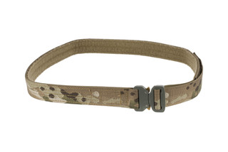 High Speed Gear 1.5in 2XL MultiCam Rigger Belt coyote is equipped with a cobra buckle