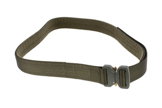High Speed Gear 1.5in 2XL olive drab green Rigger Belt coyote is equipped with a cobra buckle