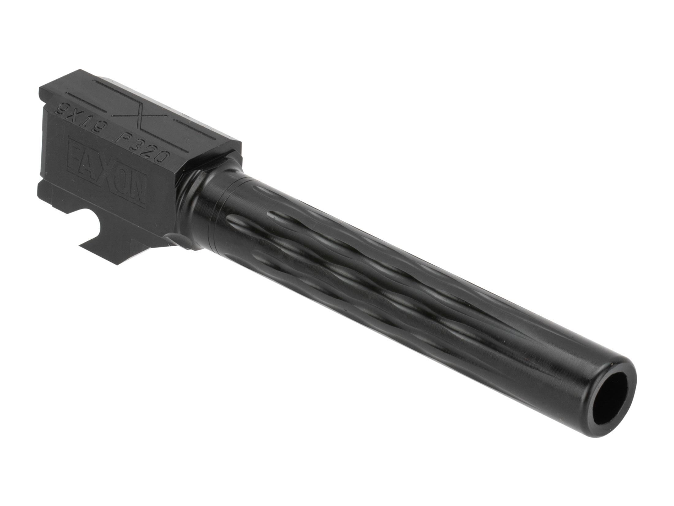 Faxon Firearms Sig P320 Full Size Flame Fluted Barrel - Nitride