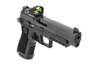 SIG Sauer P320 RXP XFull 9mm Pistol features the ROMEO1 red dot sight