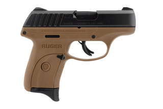 This ruger ec9s is in fde.