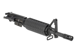 FN America 556 complete upper receiver features an A2 front sight