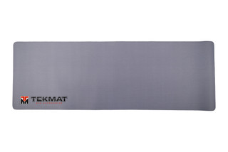 TekMat 36in grey rifle cleaning mat featuring an TekMat Logo dye sublimated graphic.