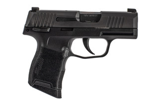 SIG Sauer P365 9mm Pistol features an ambidextrous manual safety