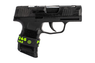SIG Sauer P365 SAS Micro compact 9mm pistol features super-low profile sights and includes 1 magazine
