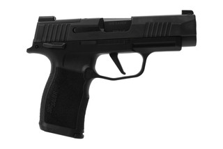 SIG Sauer P365XL sub compact 9mm pistol features an ambidextrous manual safety lever