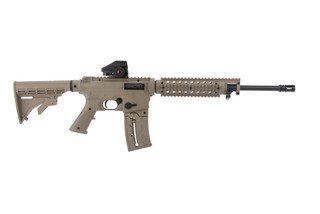 mossberg 715 rifle in FDE.