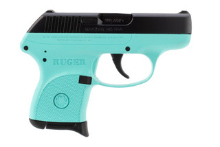 Ruger LCP .380 ACP turquoise