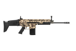FN SCAR 17s 7.62 NATO battle rifle with western viper camo
