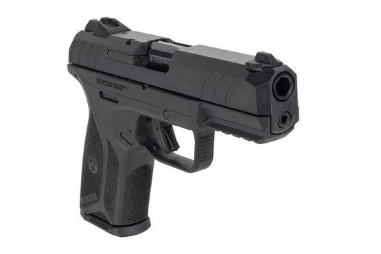 Ruger Security 9mm compact pistol features a picatinny light rail