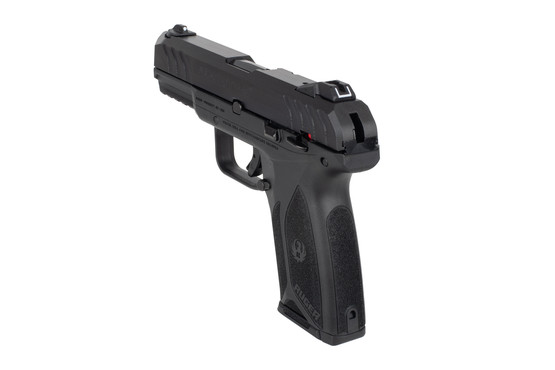 Ruger Security9 compact 9mm pistol features standard 3 dot sights