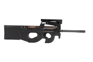 FN PS90 Bullpup rifle is chambered in 5.7x28mm and features a 16 inch barrel