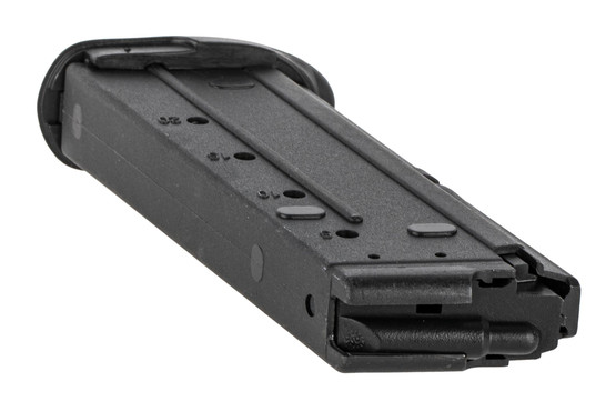 The FN 5.7 magazine features side witness holes