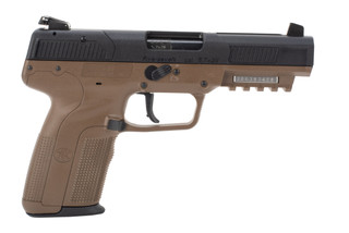 FN Five Seven Pistol features a flat dark earth polymer frame