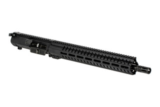 The CMMG Resolute 100 series complete upper receiver is chambered in .308 winchester with a 16 inch barrel