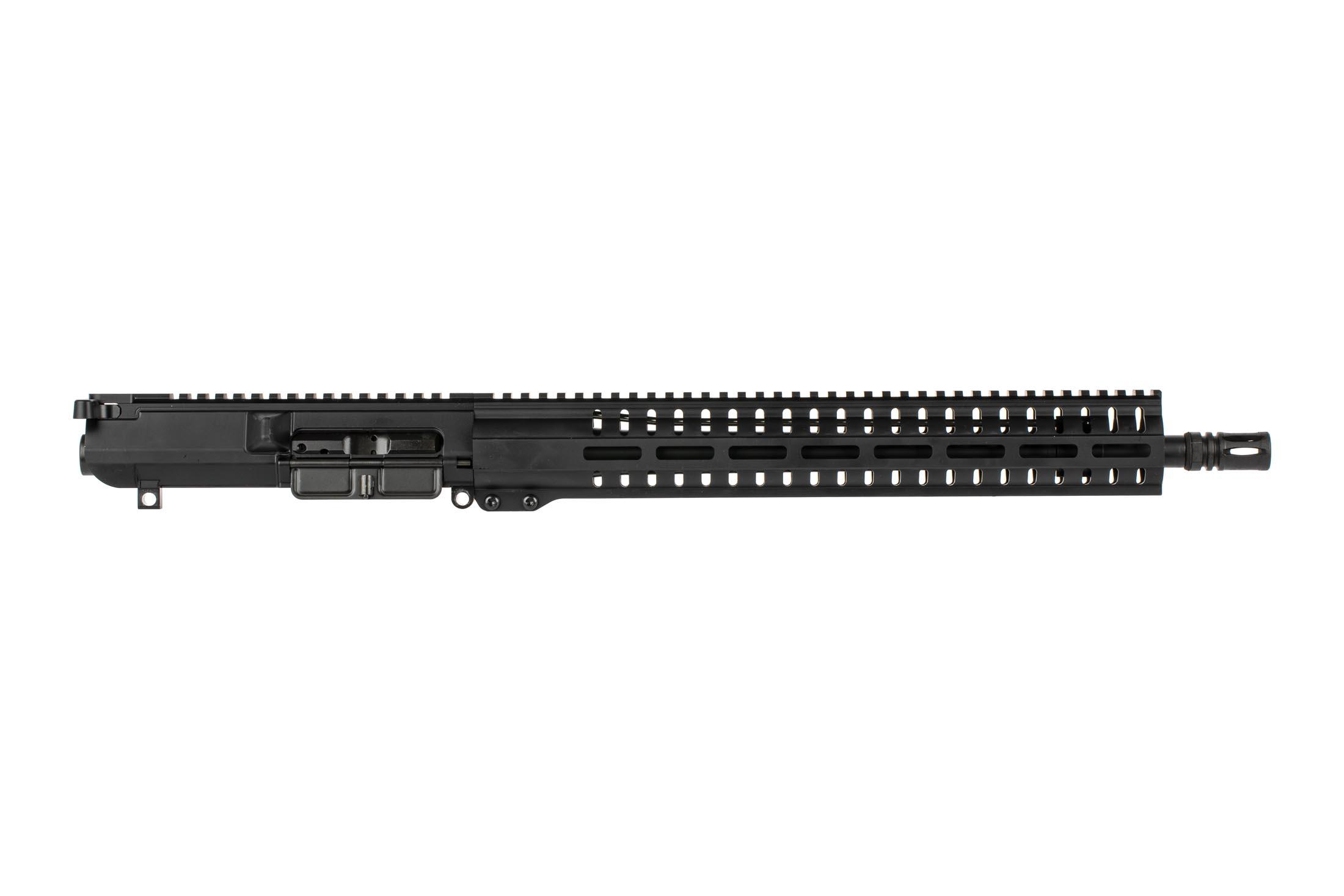 The CMMG Resolute .308 complete upper receiver assembly features a 15 inch M-LOK free float handguard