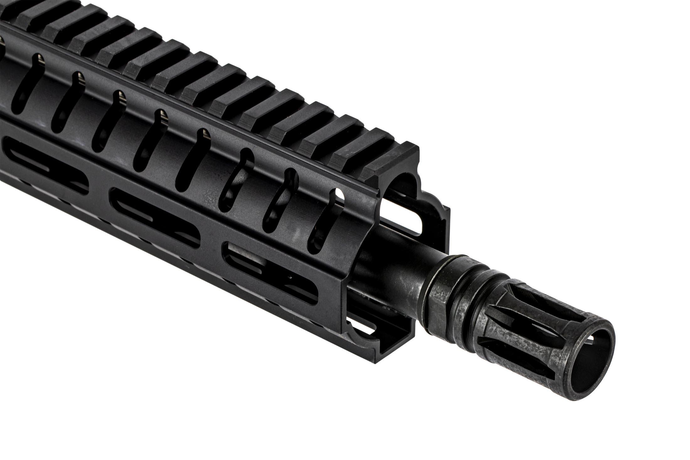 The CMMG Resolute 100 Series 308 upper receiver group features an A2 style flash hider