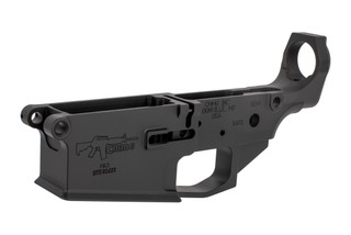 The CMMG Mk3 AR-308 stripped lower receiver group is machined from 7075-T6 billet aluminum